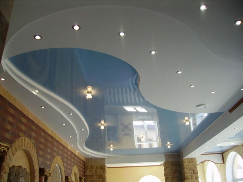 Двухуровневые потолки - необычное решение для современного потолка ... | 768x1024